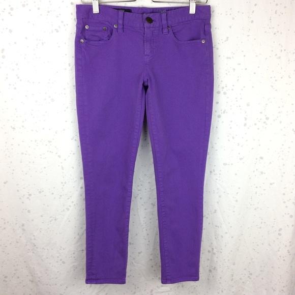 J. Crew Pants - J. Crew Toothpick Jean Garment Dyed Twill 28 Ankle